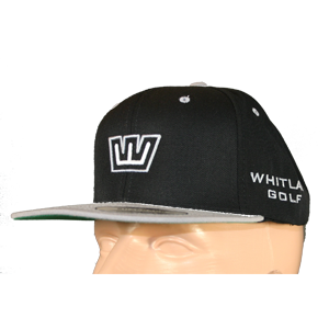 Whitlam Classic Snapback - Black & Silver